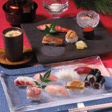 【お昼限定】品格を感じながらお愉しみいただける『にぎり寿司-翠- 5,500円(税込)』<全5品>