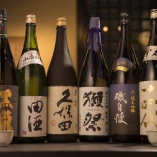 こだわりの地酒/本格焼酎を多数品揃え 「旬」を注ぐ贅沢。