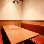【半個室|4~6名様×3卓】