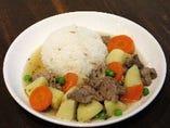 オルマンケバブ -ラム肉と野菜の塩煮-