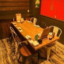◆個室席でゆったり宴会