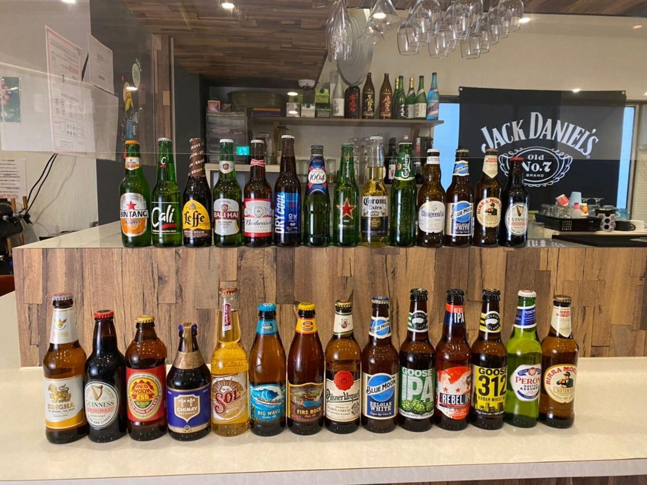 海外ビール&1人飲み放題コース