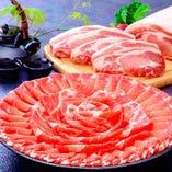 鹿児島県産の「黒毛和牛」や「黒豚」など鹿児島を堪能できます!