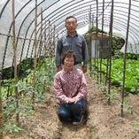 契約農家さんから新鮮な野菜を仕入れています。【鹿児島県】