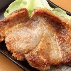 バームクーヘン豚ステーキ