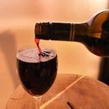 「なみなみ」グラスワイン