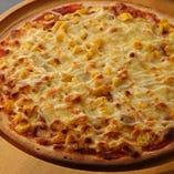 自家製ツナのマヨコーンピザ