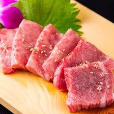 【飲み放題付】黒毛和牛等11品 梅コース 6,050円(お料理のみは4,400円)