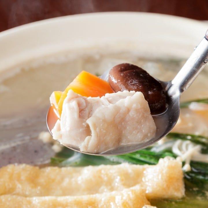 選び抜いた食材を使用した伝統の味
