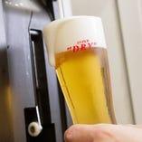 【ドリンク】 喉ごし抜群の生ビールも選べる飲み放題プラン