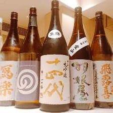 銘酒と鮨が織り成す絶妙なハーモニー