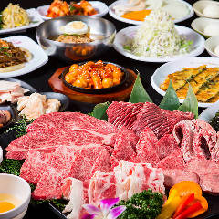 国産牛食べ放題 焼肉 八六 江戸堀店