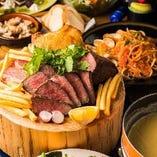 お酒が進む美味しいお料理の数々をご堪能ください♪