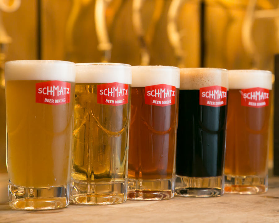 プレミアム飲み放題(+500円)でドイツビール全8種類飲み放題!
