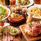 ワンランク上のドイツ料理を堪能♪カイザーコース