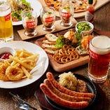 ドイツ料理を堪能♪ シュマッツコース
