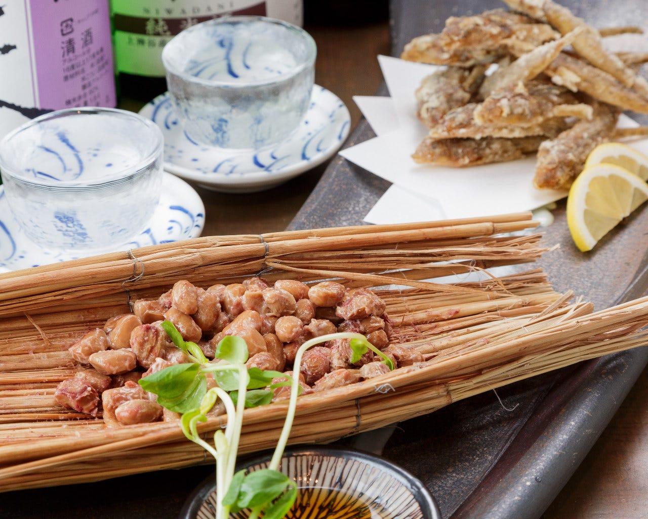 大阪産(もん)の名品の入ったコース料理