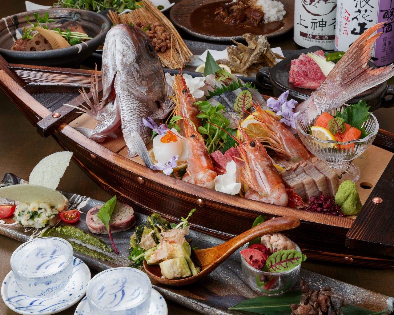 大阪産の魚~野菜~肉~名品と満足度の高い当店のご宴会