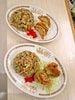 餃チャンセット(半チャーハンと揚げ餃子) 唐チャンセット(半チャーハンと唐揚げ)