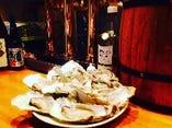 牡蠣のスパークリングワインスチーム