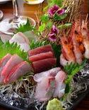 本日の鮮魚盛り