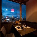 11階からの絶景夜景個室あり~大切な人へのおもてなしにふさわしい、特別な空間