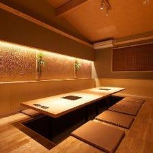 【完全個室】優雅な個室を19室ご用意