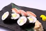 蟹寿司盛合せ