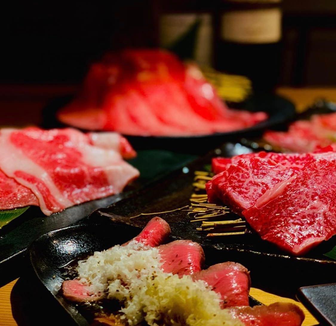 【当日予約OK】名物タンの焼きしゃぶをはじめ熟成肉などよしはら初めての方にオススメ料理のみ7000円コース