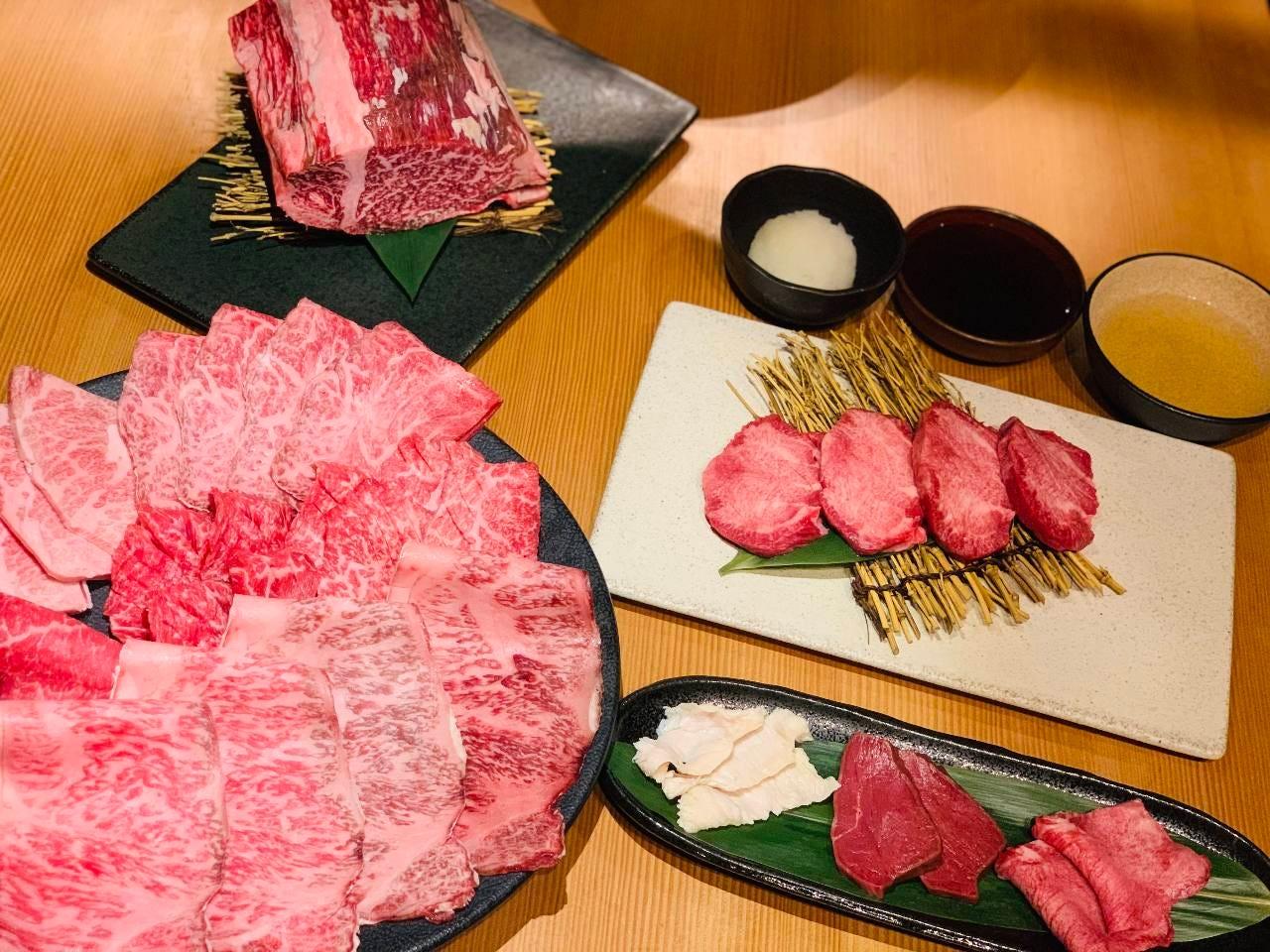 【至極】極み選ばれし国産牛の数々。貴方は今日からにくまにあ。料理のみ13000円コース