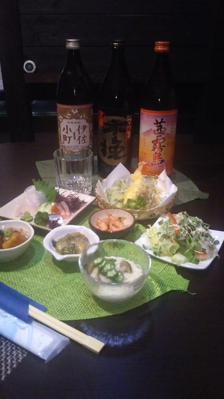 3500円(税別)料理プラス飲み放題のプランです。職場や友人などの集まりの宴会などにオススメのコースです