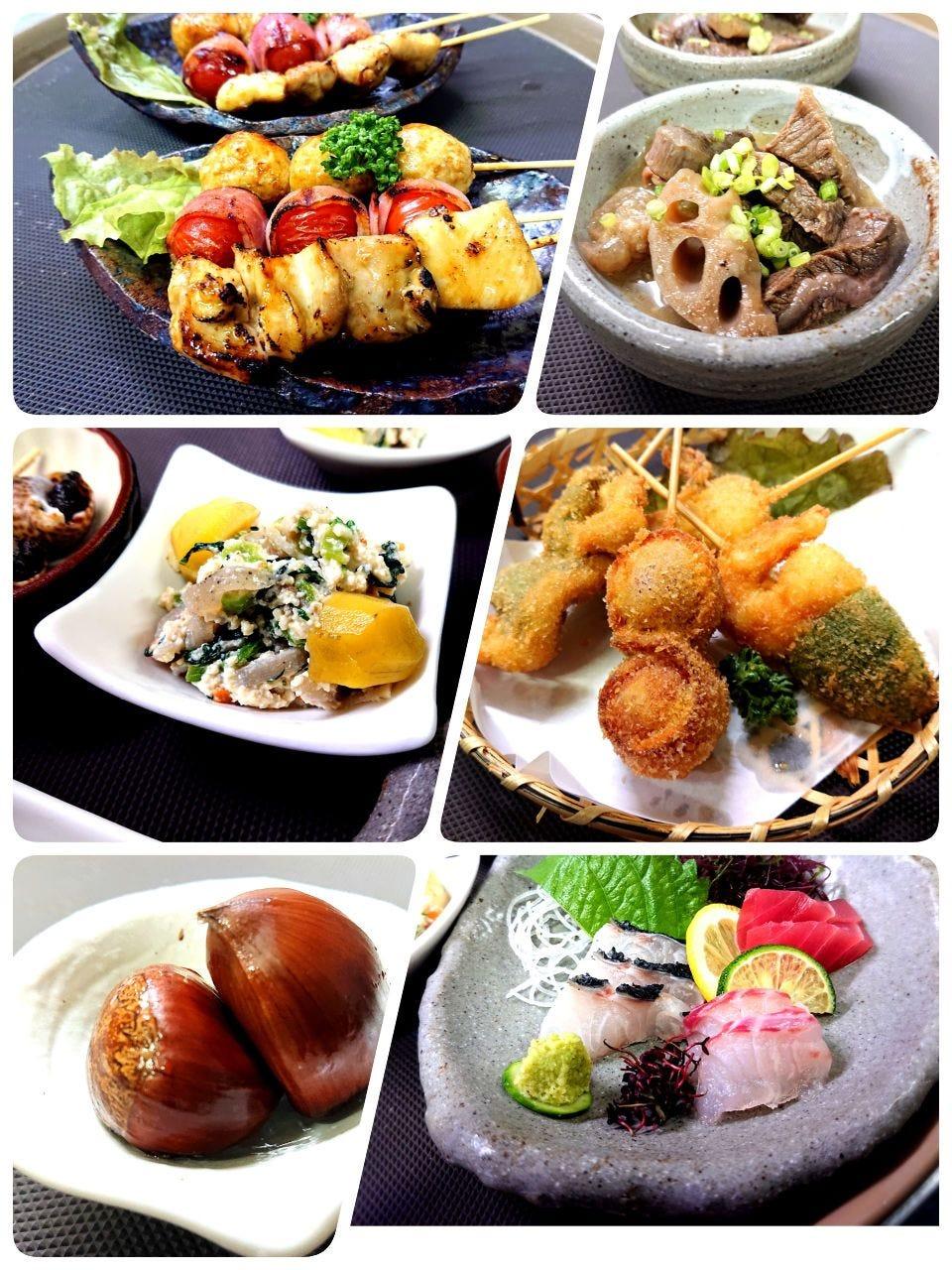 コース料理3000円。ちょっと贅沢なお食事、誕生日や記念日などにオススメのコース料理です