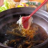 あいち鴨の葱しゃぶ鍋