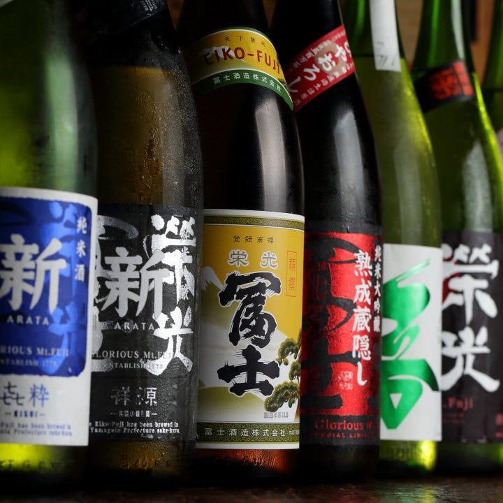 山形の日本酒も♪