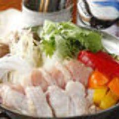 地鶏の水炊き鍋