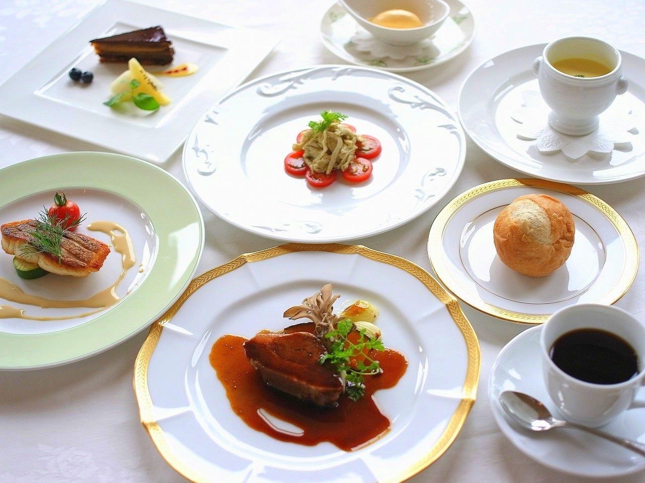 季節の厳選食材を使用したフレンチ 様々な用途にご利用頂けます