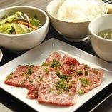 宮崎牛の焼肉定食