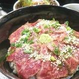 宮崎牛炙り丼