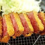 宮崎牛 牛カツ定食