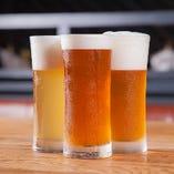 ビール好き歓喜!飲み比べも楽しい♪