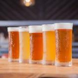和歌山が誇るクラフトビールが勢揃い