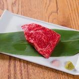 熊野牛ステーキ イチボ