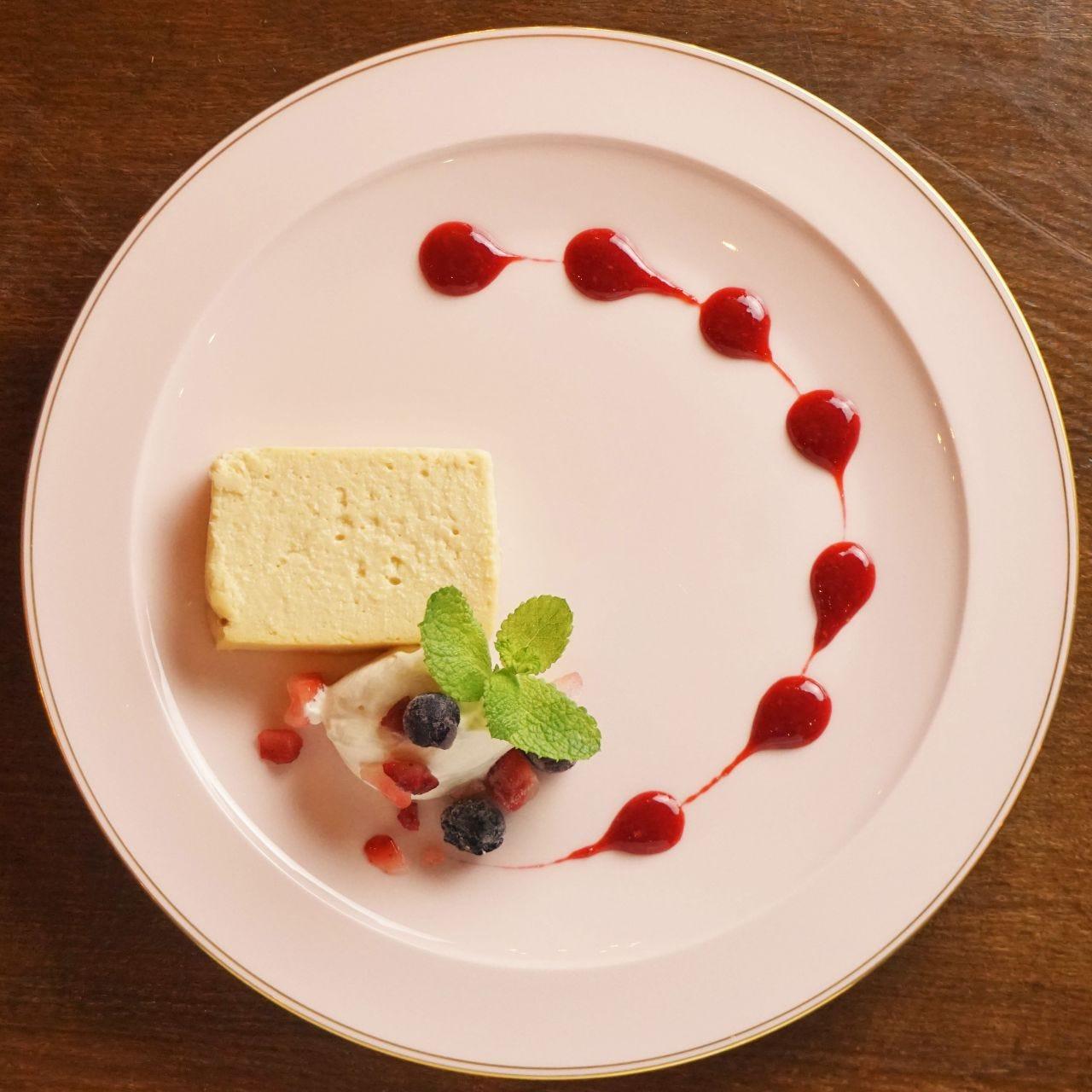 仙波豆腐のベイクドチーズケーキ