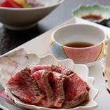 【和牛ステーキ膳】香ばしく焼き上げた黒毛和牛ステーキがメイン