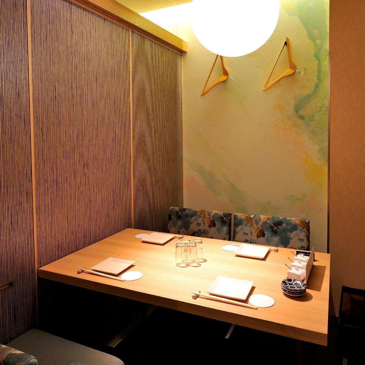上質なくつろぎ空間で創作京料理