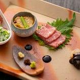 シーンに合わせて神戸ビーフや海鮮を組み合わせたコースをご用意