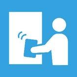 【2】手が触れる場所とお席の定期消毒を実施