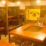 ●● ぼんくら家 千日前店 少人数用テーブル席のご案内 ●●