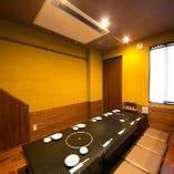 別館 10名様堀りごたつ個室 大小様々な個室をご用意しています。