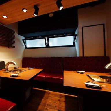 山形県自家牧場直送 焼肉 牛語 福島  店内の画像